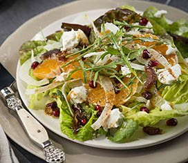 Fennel Salad with Citrus, Dates & Goat Cheese