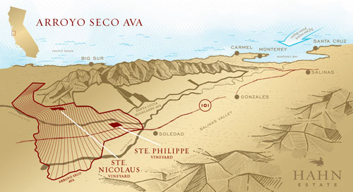 Arroyo Seco Map Thumbnail