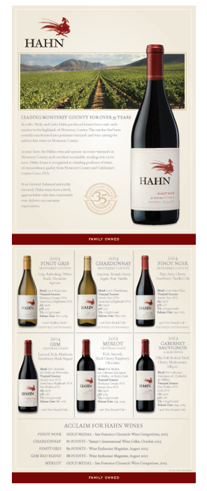 Hahn Brand Overview Sheet