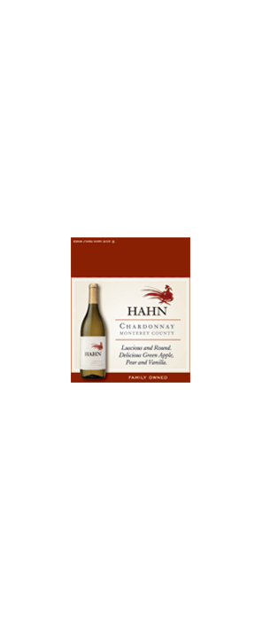 Hahn Chardonnay Shelf Talker