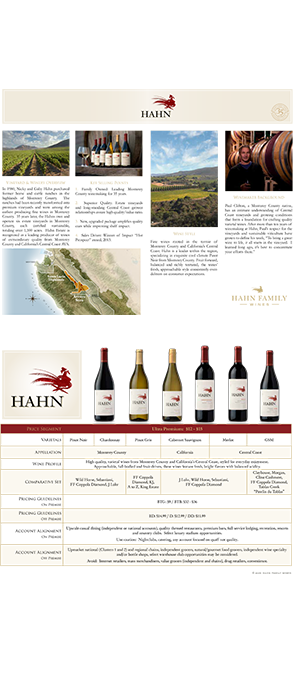 Hahn Brand Reference Sheet